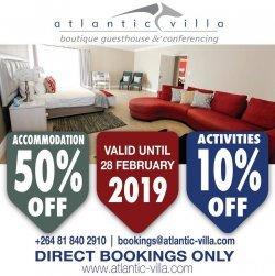 atlantic villa - destination swakopmund