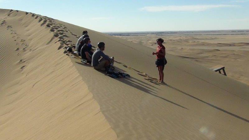 sandboarding - destination swakopmund