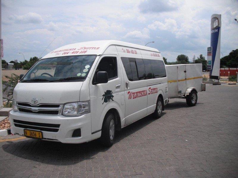 shuttles - destination swakopmund