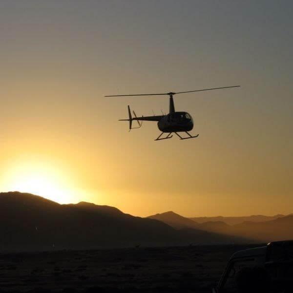 helicopters - destination swakopmund