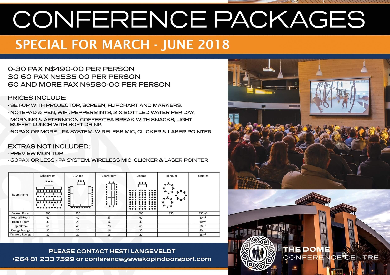 dome conferencing - destination swakopmund