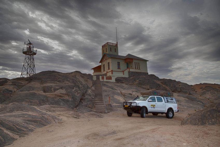 asco car hire namibia - destination swakopmund